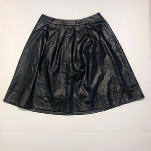 NY and company Faux leather skirt
